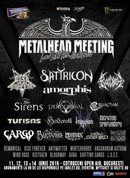Inca cinci confirmari la METALHEAD Meeting 2015
