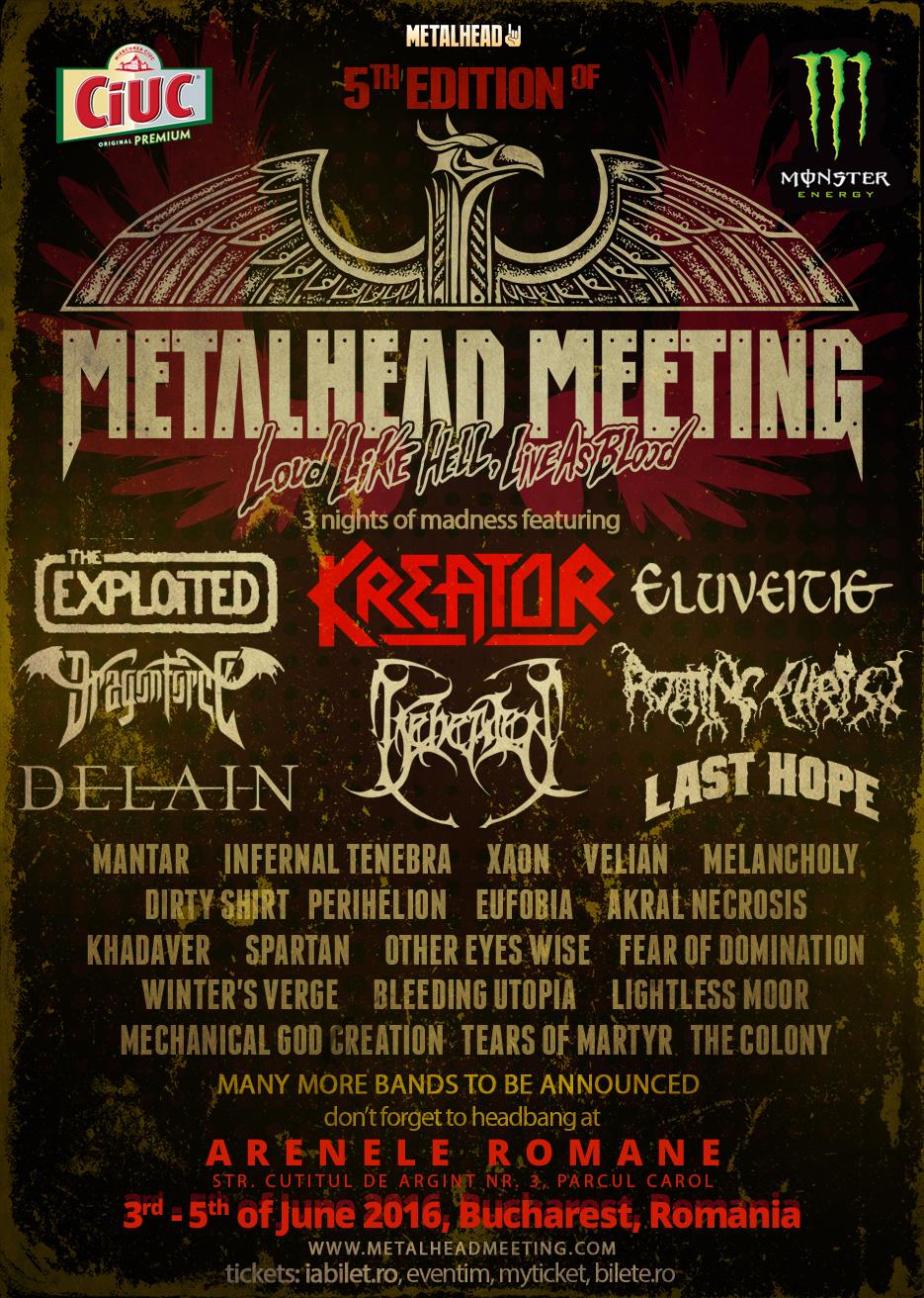 Bulgarii de la LAST HOPE canta la festivalul Metalhead Meeting 2016