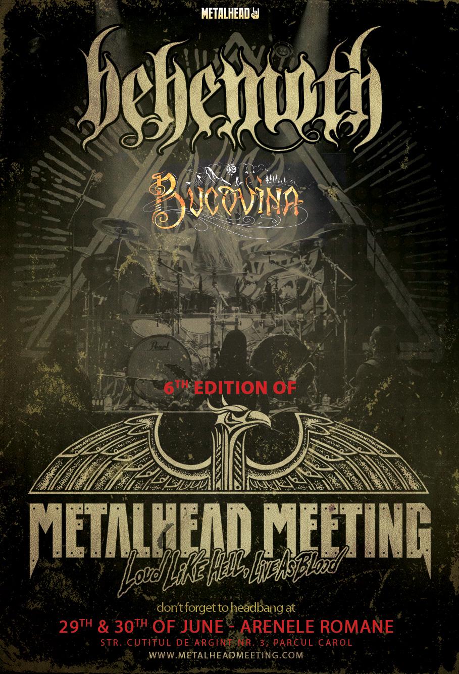 METALHEAD Meeting 2017: BEHEMOTH si Bucovina, primele doua nume confirmate