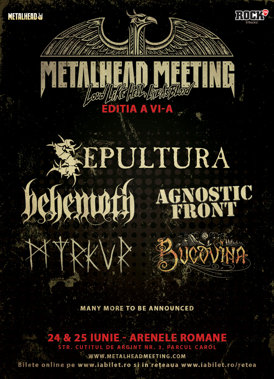 Agnostic Front si Myrkur canta la METALHEAD Meeting 2017
