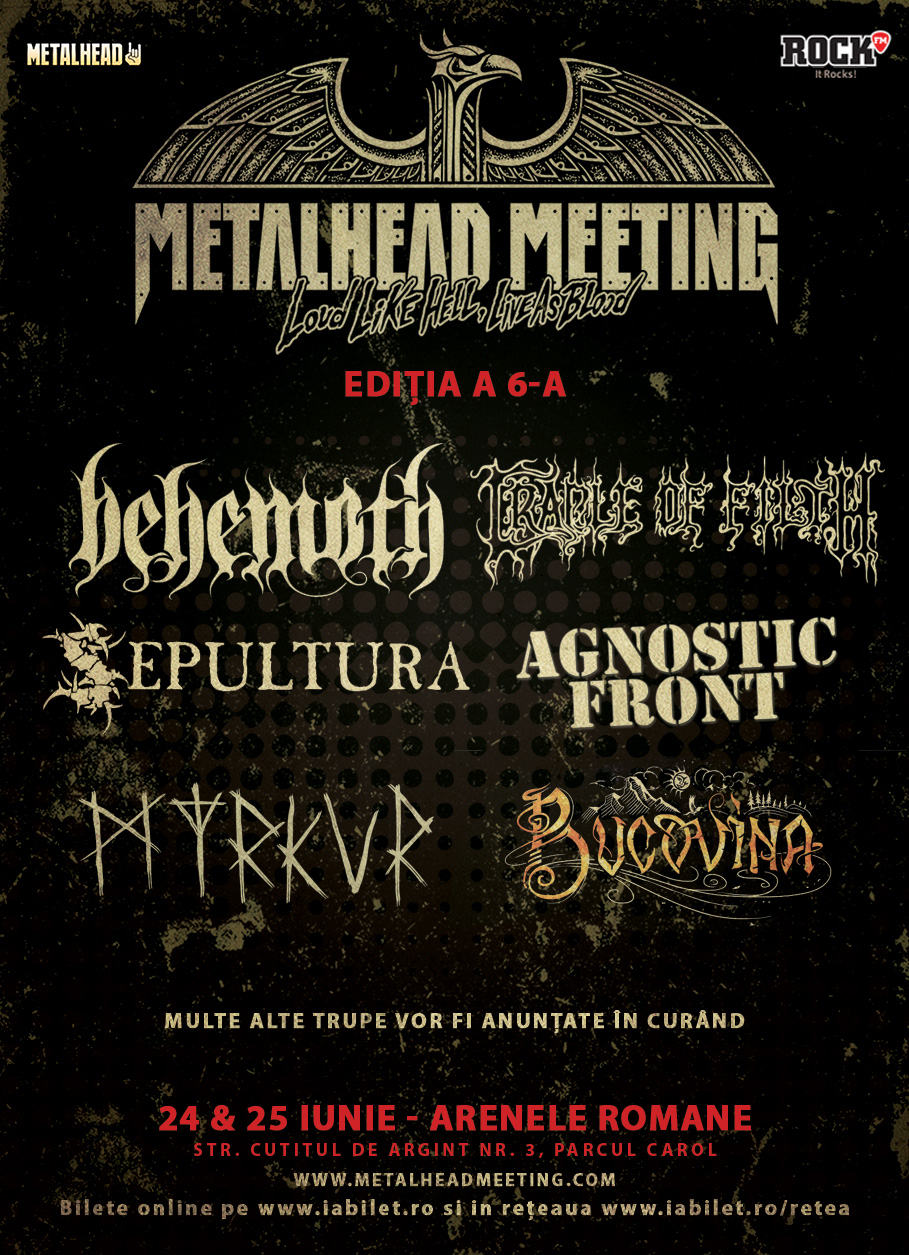 CRADLE OF FILTH canta la Metalhead Meeting Festival 2017
