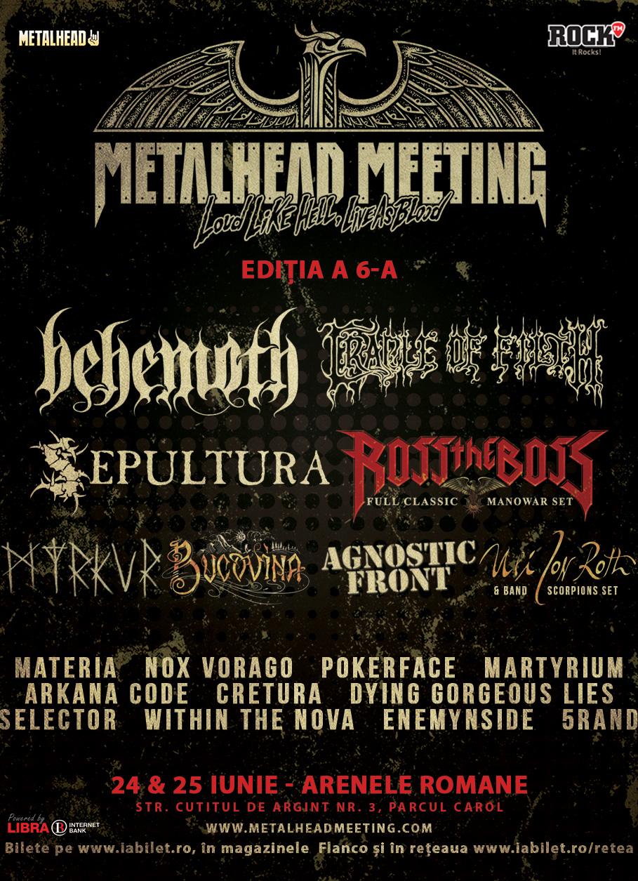 Sâmbătă începe Metalhead Meeting Festival 2017!