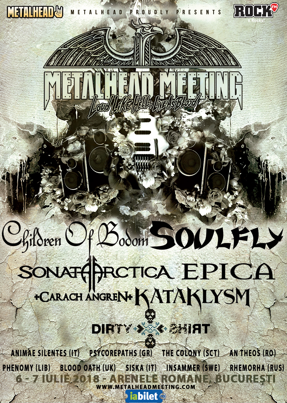 Vineri incepe Metalhead Meeting 2018