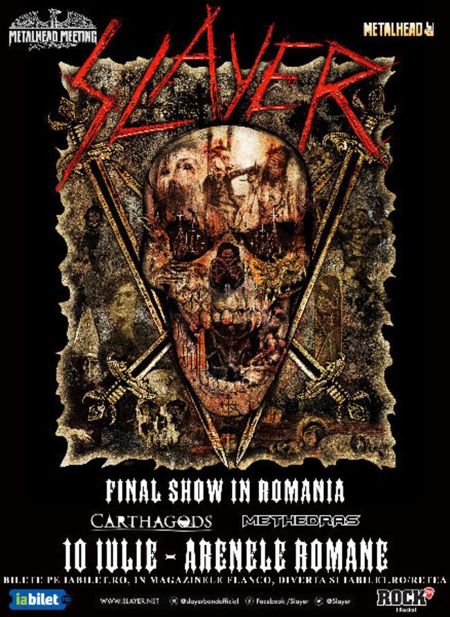 SLAYER – FINAL SHOW la Metalhead Meeting 2019